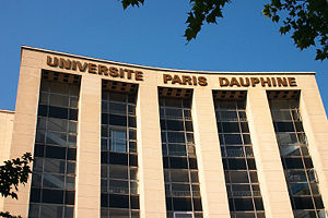 Paris Dauphine University - Dauphine University in Paris, housed in the Palais de l'Otan, the former NATO headquarters designed by Jacques Carlu