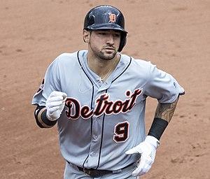 Nicholas Castellanos - Castellanos with the Detroit Tigers