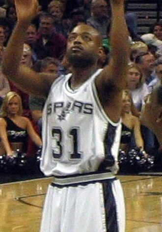 Nick Van Exel - Van Exel with the Spurs in 2005
