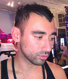 Nicola Formichetti Italian-Japanese fashion director and fashion editor