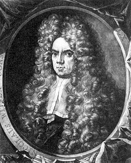 Nicolaas Witsen door Peter Schenck in 1701