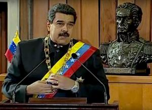 2017 Venezuelan constitutional crisis - Image: Nicolas Maduro February 2017