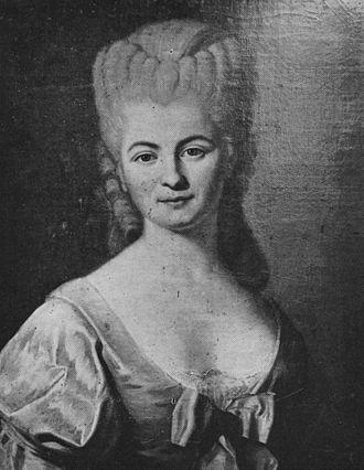 Nicole-Reine Lepaute - Portrait of Nicole-Reine Lepaute