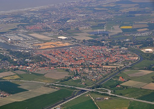 Nieuwpoort Aerial View R01
