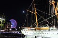 Nippon Maru I stern at night 20101223.jpg