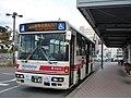 Nishitetsu Bus Futsukaichi 5814 at Nishitetsu Futsukaichi Station.jpg