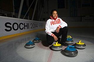Nkeirouka Ezekh Russian curler