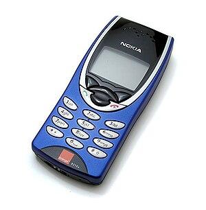 Nokia 8210 - Image: Nokia 8210