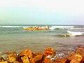 Noon time view at Bheemunipatnam beach 03.jpg