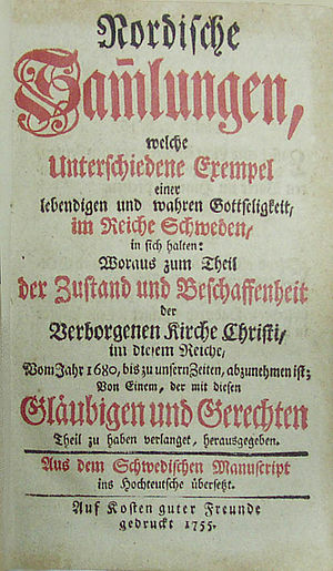 Radical Pietism - Image: Nordische Sammlungen