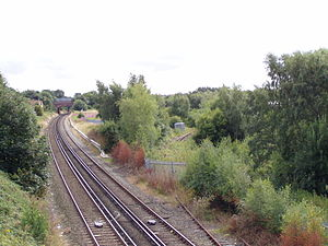 North Mersey Branch - Branch leaves the Merseyrail Northern line south of Aintree Station