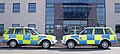 Northern Constabulary 2 Range rovers at Police Headquarters Inverness Scotland.jpg
