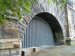 Canonmills - Northern end of the Scotland Street Tunnel