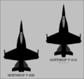 Northrop P-600 and P-610 top-view silhouettes.png