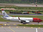 Norwegian Air Shuttle Boeing 737-8JP LN-NGS at HEL 05JUN2015.JPG