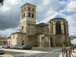 Belleville, Rhône - The church of Our Lady, in Belleville