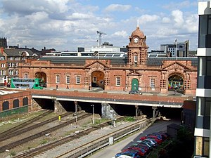 Nottingham station - Nottingham Midland Station, Nottingham