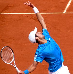 Novak Đoković at the 2009 French Open 4.jpg