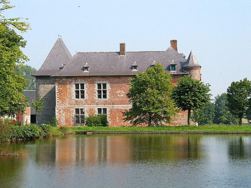 Noville-les-Bois   (Belgium), the Fernelmont castle (XIII/XVIth centuries).