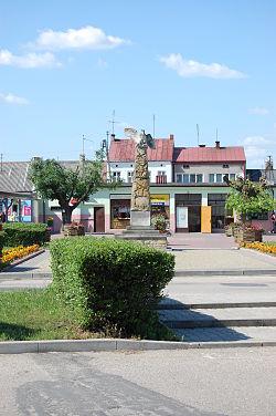 Nowe Miasto nad Pilicą - Plac Kościuszki.JPG