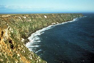 Nunivak Island - Bering Sea cliffs, Nunivak