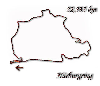 German motorcycle Grand Prix - Image: Nurburgring 1967