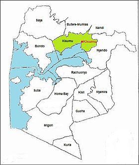 Kisumu district du Kenya Wikipdia