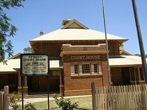 Nyngan - Court house, Nyngan