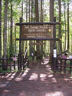 """Abetone - """"Orto Botanico Forestale di Abetone"""" (Botanical Garden) - entry"""