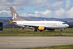 OY-JTT Boeing 737-700 Jet Time (26313533402).jpg