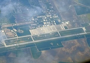 Morón Air Base - Aerial view of Morón Air Base