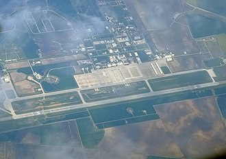 Morón Air Base - Aerial view of Morón Air Base