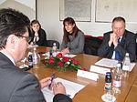 Obisk ministrice za obrambo v Letalskem centru Cerklje ob Krki 01.JPG