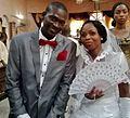Odeyele ayodeji with wife 02.jpg
