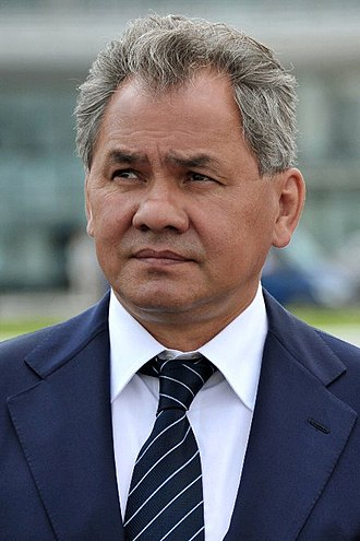 Governor of Moscow Oblast - Image: Official portrait of Sergey Shoigu 11