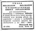 Ogłoszenie J.Mielczarka Dziennik Łódzki 15 czerwca 1947.png