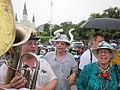 Oil Flood Protest pipes.JPG