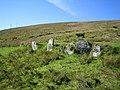 Oileán Baoi (Dursey Island), Standing stone - geograph.org.uk - 284000.jpg