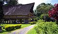 Old Batak village long house.jpg