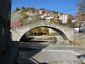 Dotsiko - Old bridge in Dotsiko