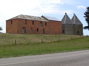 Johnsonville, Victoria - Image: Old Hop Kilns at Mossiface