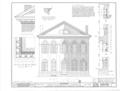 Old Masonic Hall, Monroe and East Hobbs Streets, Athens, Limestone County, AL HABS ALA,42-ATH,3- (sheet 2 of 4).png