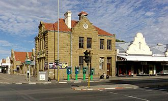 Aliwal North - The old Post Office building constructed from sandstone.