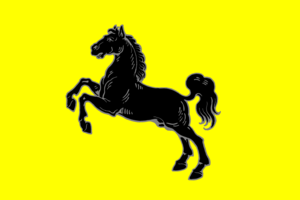 Flag of Saxony - Image: Old Saxony banner