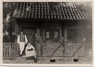 Køge - Image: Oldestbuildingin Koege