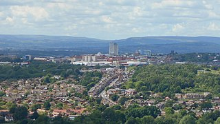 Oldham Human settlement in England