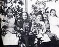 Olga Johnson, Derle Denney, Ruth Lindner, Mabel Olson and Josephine Kosmalski (Beaverton, Oregon Historical Photo Gallery) (238).jpg