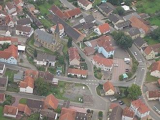 Olsbrücken - Aerial view