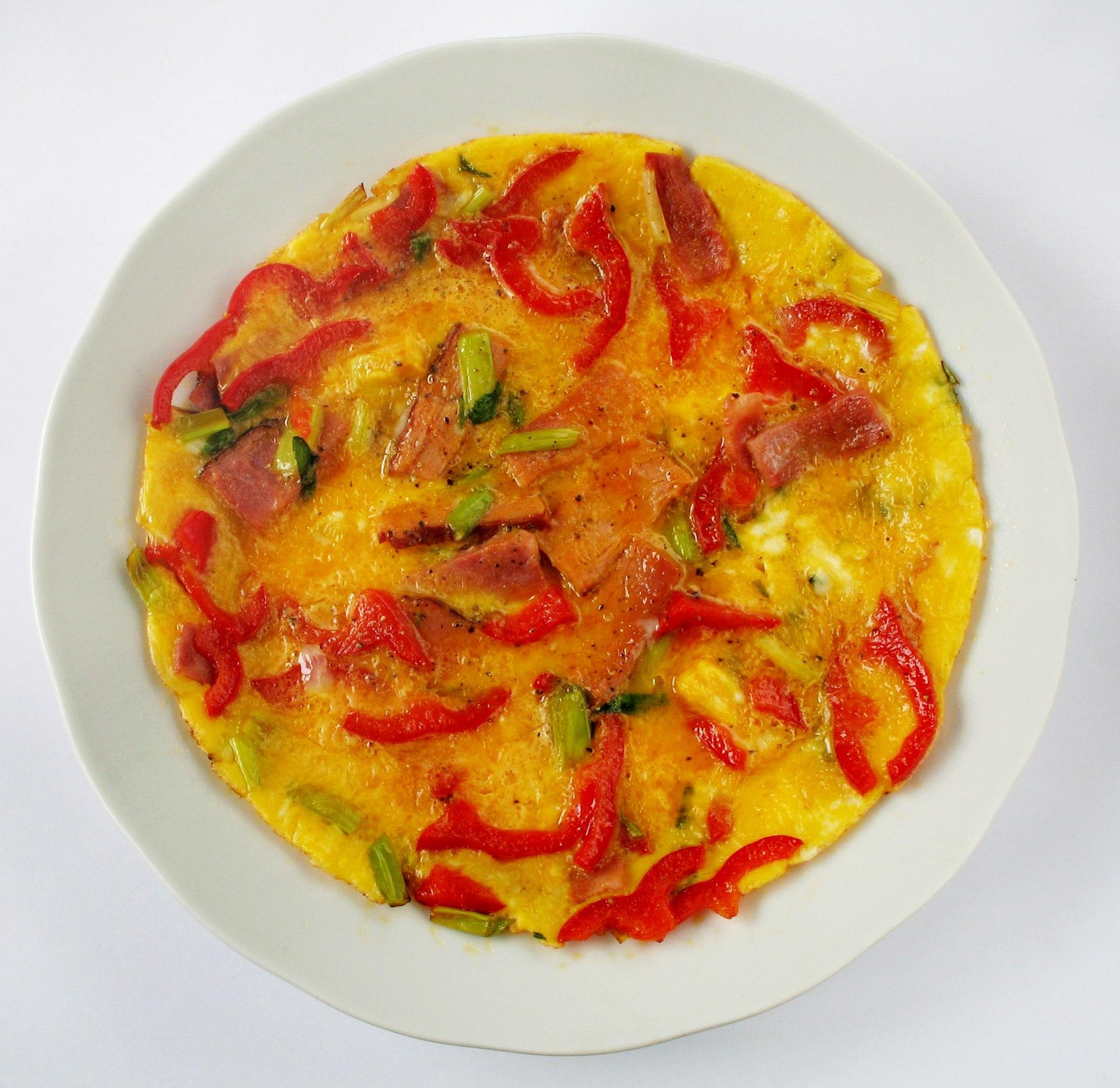 how to make a 4 egg omelette