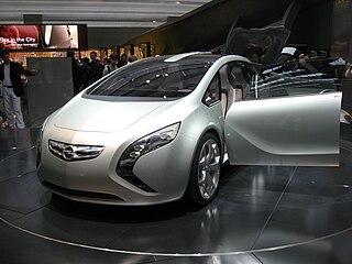Opel Flextreme Motor vehicle